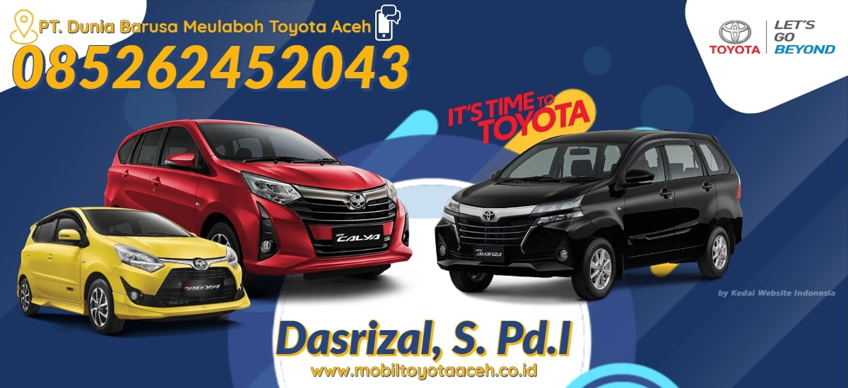 Banner Mobil Toyota Aceh